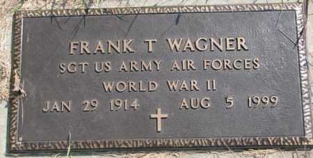 WAGNER, FRANK T. (WW II) - Yankton County, South Dakota | FRANK T. (WW II) WAGNER - South Dakota Gravestone Photos