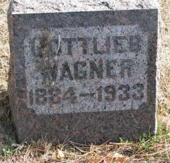 WAGNER, GOTTLIEB - Yankton County, South Dakota | GOTTLIEB WAGNER - South Dakota Gravestone Photos