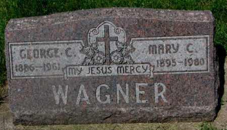 WAGNER, GEORGE C. - Yankton County, South Dakota | GEORGE C. WAGNER - South Dakota Gravestone Photos