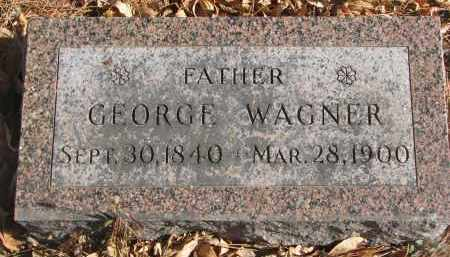 WAGNER, GEORGE - Yankton County, South Dakota   GEORGE WAGNER - South Dakota Gravestone Photos