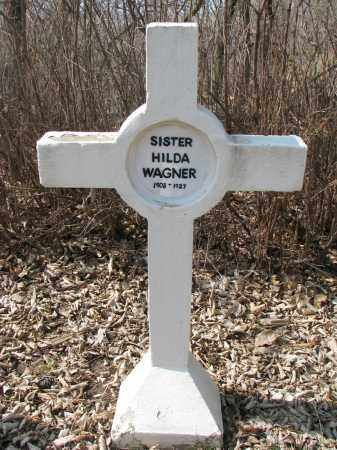 WAGNER, HILDA - Yankton County, South Dakota | HILDA WAGNER - South Dakota Gravestone Photos