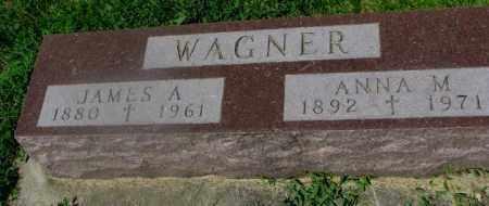 WAGNER, JAMES A. - Yankton County, South Dakota   JAMES A. WAGNER - South Dakota Gravestone Photos