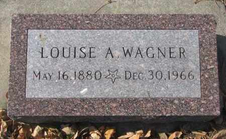 WAGNER, LOUISE A. - Yankton County, South Dakota | LOUISE A. WAGNER - South Dakota Gravestone Photos