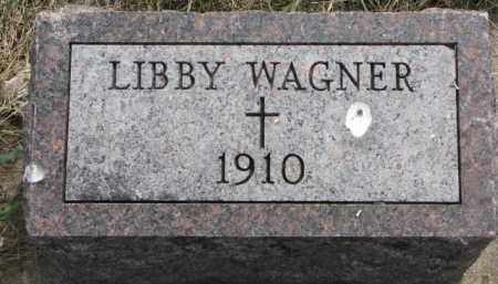 WAGNER, LIBBY - Yankton County, South Dakota | LIBBY WAGNER - South Dakota Gravestone Photos