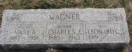 WAGNER, MARY A. - Yankton County, South Dakota | MARY A. WAGNER - South Dakota Gravestone Photos