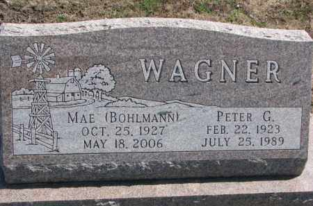 WAGNER, PETER G. - Yankton County, South Dakota | PETER G. WAGNER - South Dakota Gravestone Photos