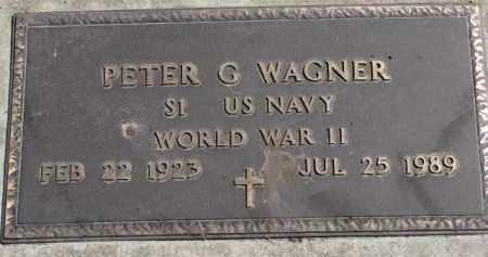 WAGNER, PETER G. (WW II) - Yankton County, South Dakota | PETER G. (WW II) WAGNER - South Dakota Gravestone Photos