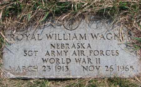 WAGNER, ROYAL WILLIAM (WW II) - Yankton County, South Dakota | ROYAL WILLIAM (WW II) WAGNER - South Dakota Gravestone Photos
