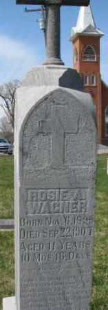 WAGNER, ROSIE A. - Yankton County, South Dakota   ROSIE A. WAGNER - South Dakota Gravestone Photos