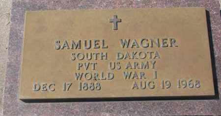 WAGNER, SAMUEL - Yankton County, South Dakota | SAMUEL WAGNER - South Dakota Gravestone Photos