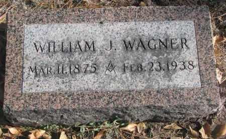 WAGNER, WILLIAM J. - Yankton County, South Dakota | WILLIAM J. WAGNER - South Dakota Gravestone Photos