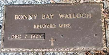 WALLOCH, BONNY BAY - Yankton County, South Dakota | BONNY BAY WALLOCH - South Dakota Gravestone Photos