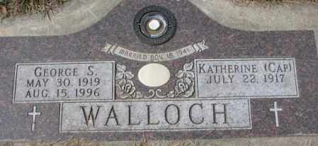 WALLOCH, KATHERINE - Yankton County, South Dakota | KATHERINE WALLOCH - South Dakota Gravestone Photos