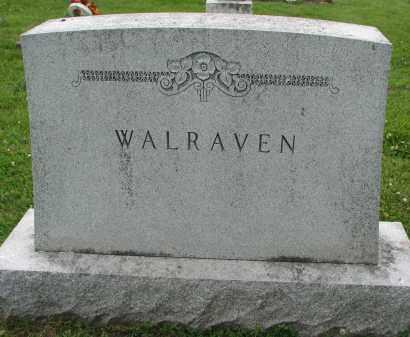 WALRAVEN, FAMILY STONE - Yankton County, South Dakota   FAMILY STONE WALRAVEN - South Dakota Gravestone Photos