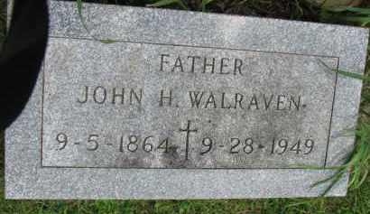 WALRAVEN, JOHN H. - Yankton County, South Dakota | JOHN H. WALRAVEN - South Dakota Gravestone Photos
