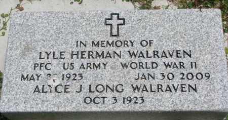 WALRAVEN, ALYCE J. - Yankton County, South Dakota | ALYCE J. WALRAVEN - South Dakota Gravestone Photos