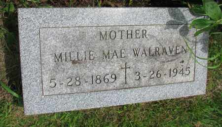 WALRAVEN, MILLIE MAE - Yankton County, South Dakota | MILLIE MAE WALRAVEN - South Dakota Gravestone Photos
