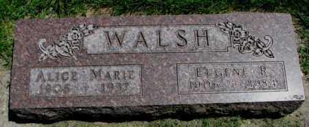 WALSH, EUGENE R. - Yankton County, South Dakota | EUGENE R. WALSH - South Dakota Gravestone Photos