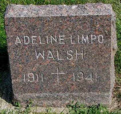 WALSH, ADELINE - Yankton County, South Dakota | ADELINE WALSH - South Dakota Gravestone Photos