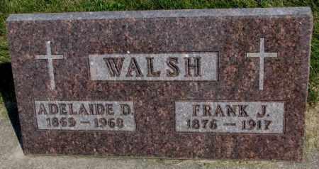 WALSH, ADELAIDE D. - Yankton County, South Dakota | ADELAIDE D. WALSH - South Dakota Gravestone Photos