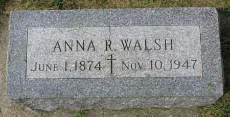 WALSH, ANNA R. - Yankton County, South Dakota | ANNA R. WALSH - South Dakota Gravestone Photos