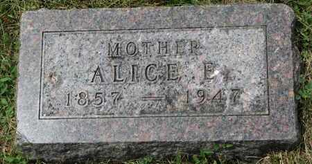 WALSH, ALICE E. - Yankton County, South Dakota | ALICE E. WALSH - South Dakota Gravestone Photos
