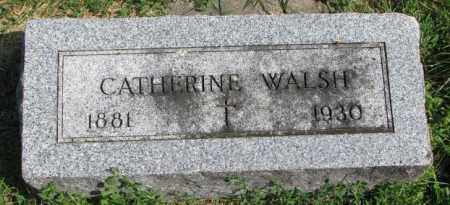WALSH, CATHERINE - Yankton County, South Dakota | CATHERINE WALSH - South Dakota Gravestone Photos
