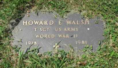 WALSH, HOWARD E. (WW II) - Yankton County, South Dakota | HOWARD E. (WW II) WALSH - South Dakota Gravestone Photos