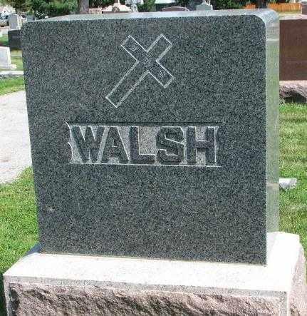 WALSH, PLOT - Yankton County, South Dakota | PLOT WALSH - South Dakota Gravestone Photos