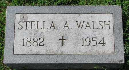 WALSH, STELLA A. - Yankton County, South Dakota | STELLA A. WALSH - South Dakota Gravestone Photos