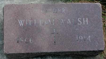WALSH, WILLIAM - Yankton County, South Dakota | WILLIAM WALSH - South Dakota Gravestone Photos