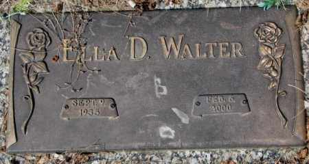WALTER, ELLA D. - Yankton County, South Dakota | ELLA D. WALTER - South Dakota Gravestone Photos