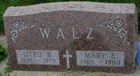 WALZ, MARY E. - Yankton County, South Dakota | MARY E. WALZ - South Dakota Gravestone Photos