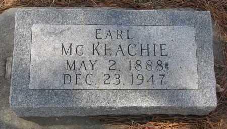 MCKEACHIE, EARL - Yankton County, South Dakota | EARL MCKEACHIE - South Dakota Gravestone Photos