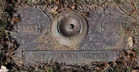 WATERS, BETTY JOAN - Yankton County, South Dakota | BETTY JOAN WATERS - South Dakota Gravestone Photos