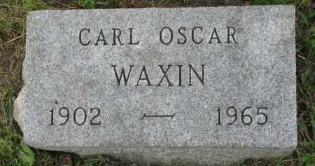 WAXIN, CARL OSCAR - Yankton County, South Dakota   CARL OSCAR WAXIN - South Dakota Gravestone Photos