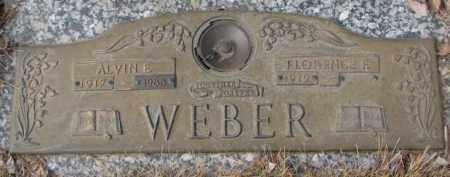 WEBER, FLORENCE F. - Yankton County, South Dakota   FLORENCE F. WEBER - South Dakota Gravestone Photos