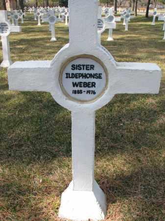 WEBER, ILDEPHONSE - Yankton County, South Dakota | ILDEPHONSE WEBER - South Dakota Gravestone Photos