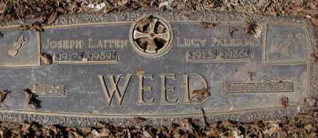 PALERMO WEED, LUCY - Yankton County, South Dakota | LUCY PALERMO WEED - South Dakota Gravestone Photos