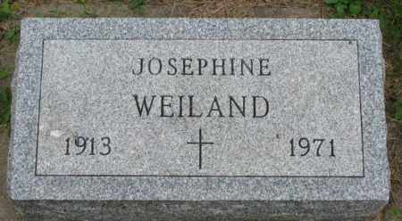 WEILAND, JOSEPHINE - Yankton County, South Dakota | JOSEPHINE WEILAND - South Dakota Gravestone Photos