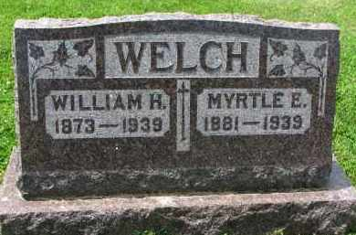 WELCH, MYRTLE E. - Yankton County, South Dakota   MYRTLE E. WELCH - South Dakota Gravestone Photos