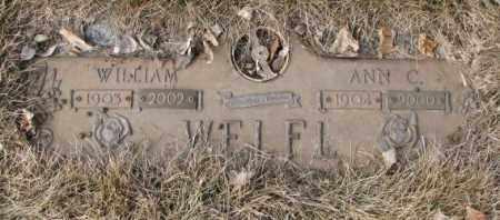 WELFL, WILLIAM - Yankton County, South Dakota | WILLIAM WELFL - South Dakota Gravestone Photos