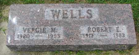 WELLS, VERGIE M. - Yankton County, South Dakota | VERGIE M. WELLS - South Dakota Gravestone Photos