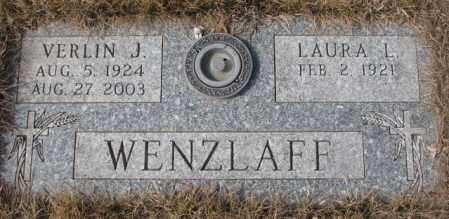 WENZLAFF, VERLIN J. - Yankton County, South Dakota   VERLIN J. WENZLAFF - South Dakota Gravestone Photos