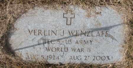 WENZLAFF, VERLIN J. (WW II) - Yankton County, South Dakota   VERLIN J. (WW II) WENZLAFF - South Dakota Gravestone Photos