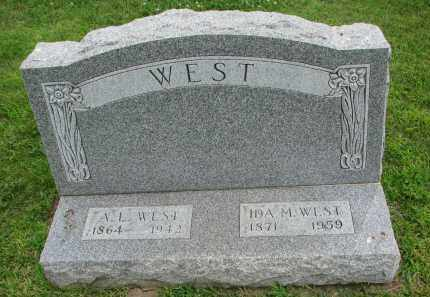 WEST, IDA M. - Yankton County, South Dakota | IDA M. WEST - South Dakota Gravestone Photos