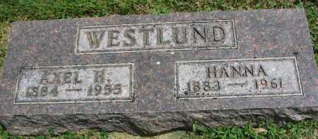 WESTLUND, AXEL H. - Yankton County, South Dakota | AXEL H. WESTLUND - South Dakota Gravestone Photos