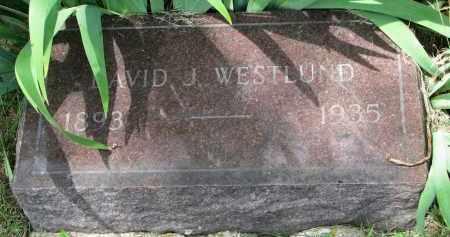 WESTLUND, DAVID J. - Yankton County, South Dakota | DAVID J. WESTLUND - South Dakota Gravestone Photos