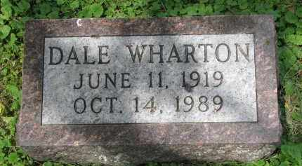 WHARTON, DALE - Yankton County, South Dakota | DALE WHARTON - South Dakota Gravestone Photos