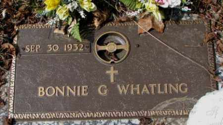 WHATLING, BONNIE G. - Yankton County, South Dakota | BONNIE G. WHATLING - South Dakota Gravestone Photos